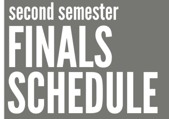 2nd Semester Final Exams at DDHS (2019-20)