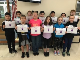 Class Dojo Top Scorers for September