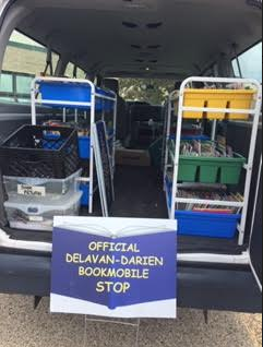 The BookMobile is loaded and ready to go!