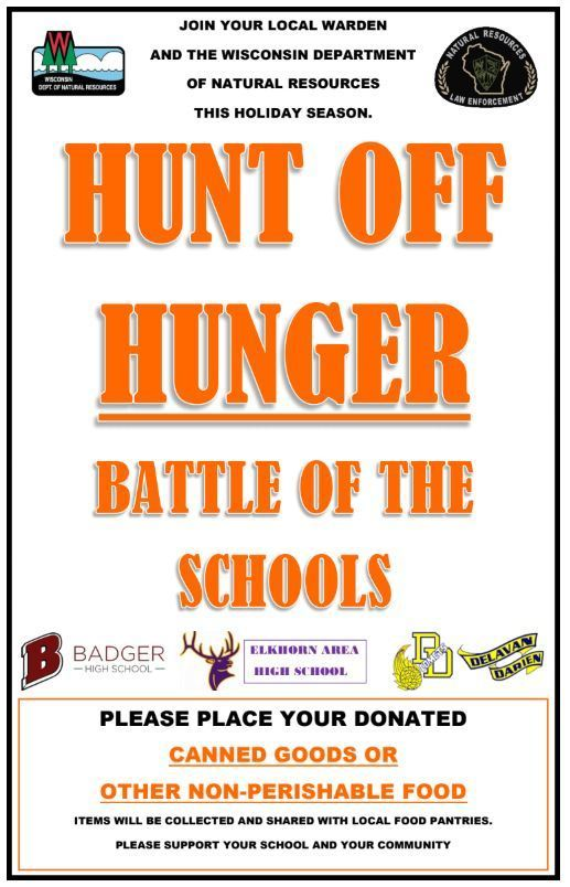 2nd Annual Hunt Off Hunger Campaign