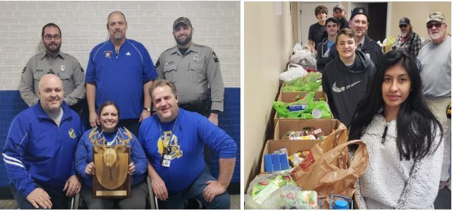 DDHS Wins 2nd Annual Hunt Off Hunger Food Drive Campaign