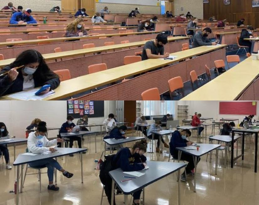 DDHS Students Take 2nd of 3 Free ACT Practice Exams