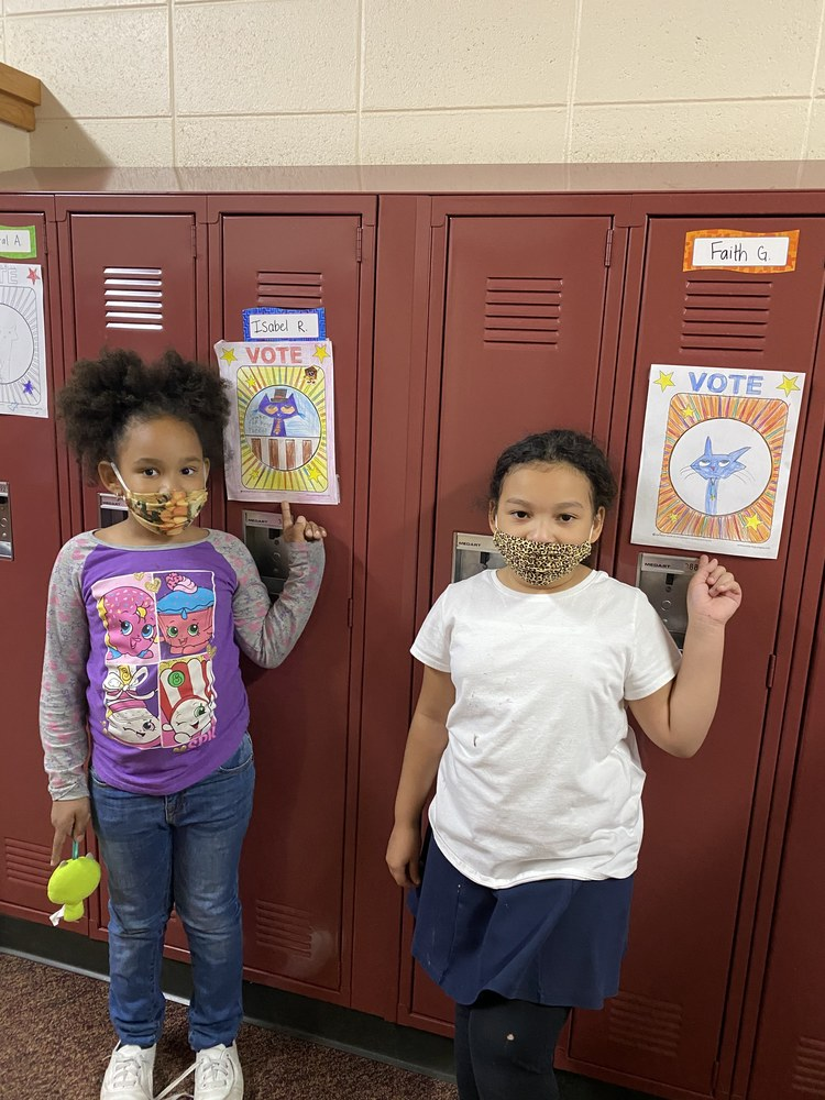 Turtle Creek Students Learn About Voting in a Fun Way