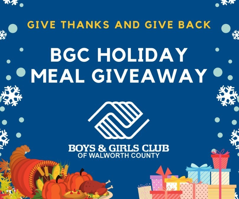 BGC Holiday Meal Giveaway