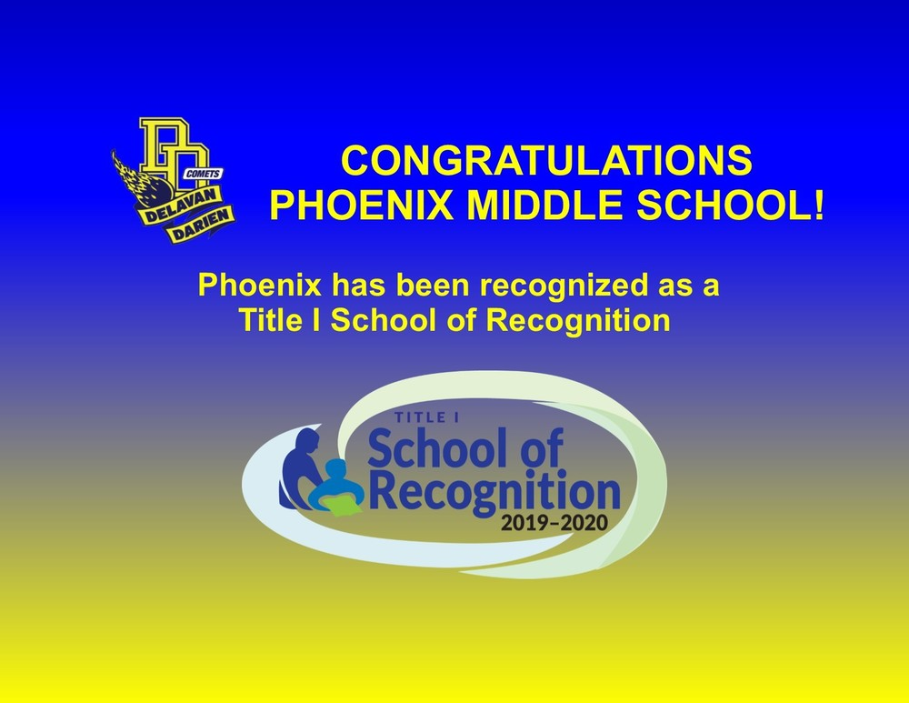 Phoenix Middle Schools Earns Wisconsin School of Recognition Award