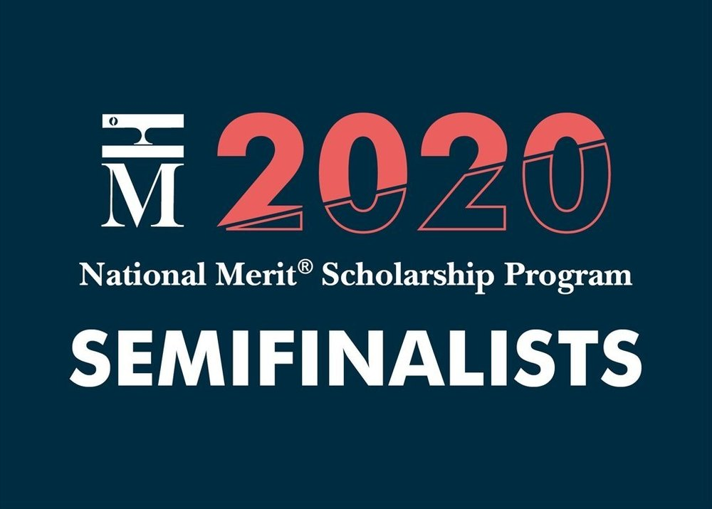 DDHS has TWO 2021 National Merit Scholarship Program Semifinalists