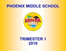 2019-20 Term One Phoenix Honor Roll