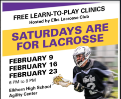 Learn to Play Lacrosse Clinics