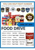 Support the Walworth County Food Drive