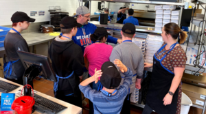 DDHS Visits Domino's Pizza