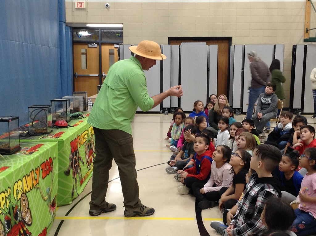 Tony The Bug Whisperer Engaging our Students