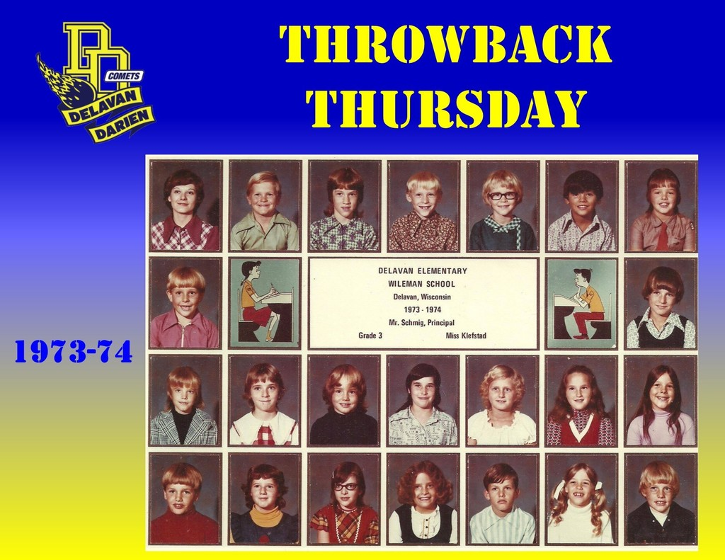 Throwback Thursday for January 16