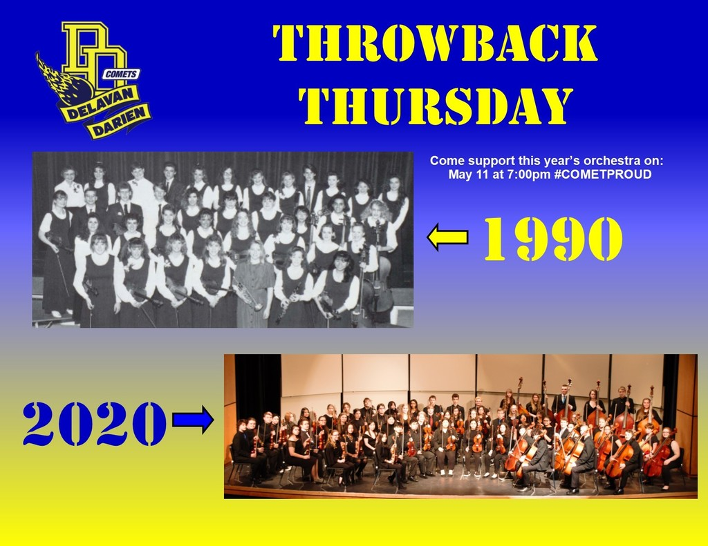 DDHS Orchestra-30 year comparison